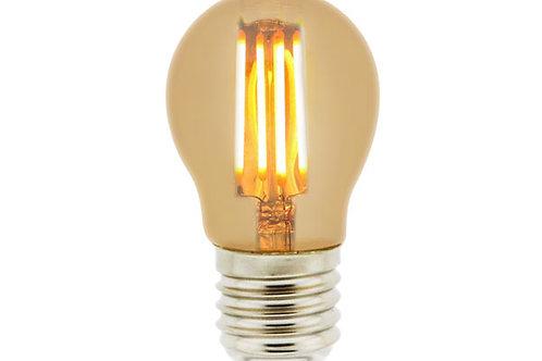 E27 4W Amber G45 Lamp Ldme