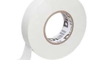 White Electrical Tape 19mm