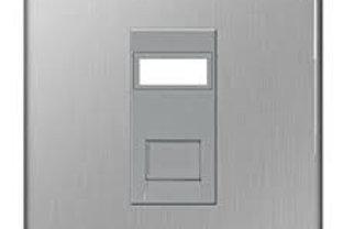 BG Screwless Data RJ45 Socket 1 Gang BS/ID window