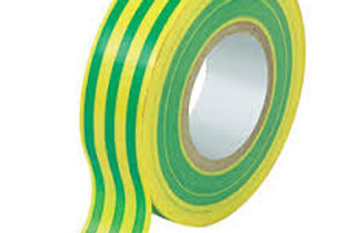 Green Yellow Electrical Tape 19mm