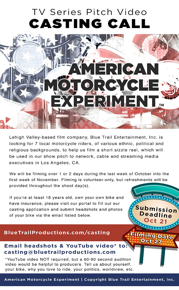 American Motorcycle Experiment - Casting