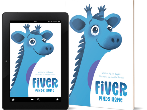 """Press Release: """"Fiver Finds Home"""" Debuts on Amazon"""