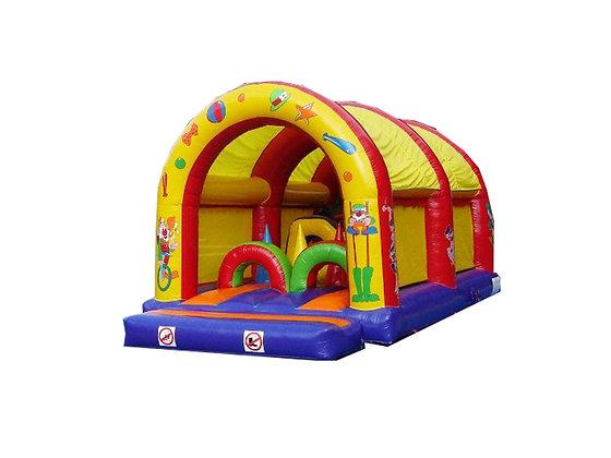 """Parcours gonflable """"Cirque"""" 8m x 4m"""