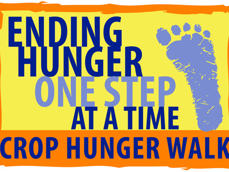 This Sunday is Crop Hunger Walk!