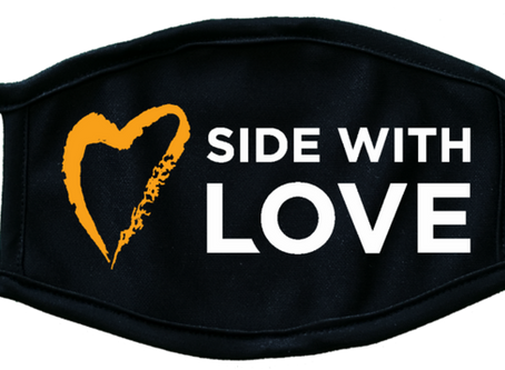 Get your Side with Love Mask!