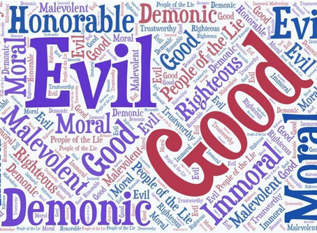 All Ages Worship Theme for June is Good and Evil