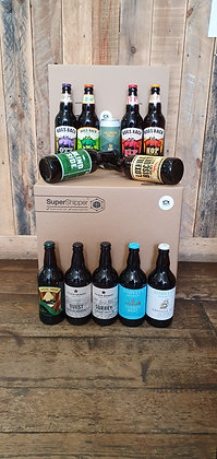 12 Traditional and Pale Ales from Surrey/Sussex - Gift Pack