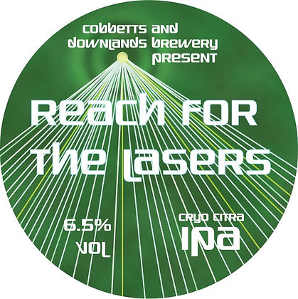 Downlands/ Cobbetts, Reach for the Lasers (1.75 pints)