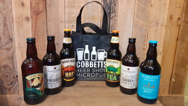 Six Local Ales - Gift Bag