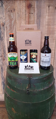 Four Surrey Bitters Gift Box