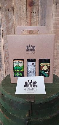 Three Surrey Bitters Gift Box