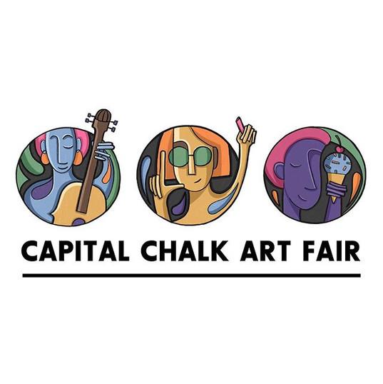 Logo I made for @capital_arts chalk art