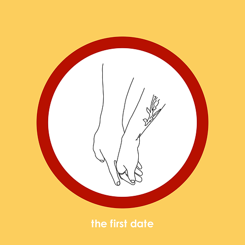 The First Date, 5x5 Print