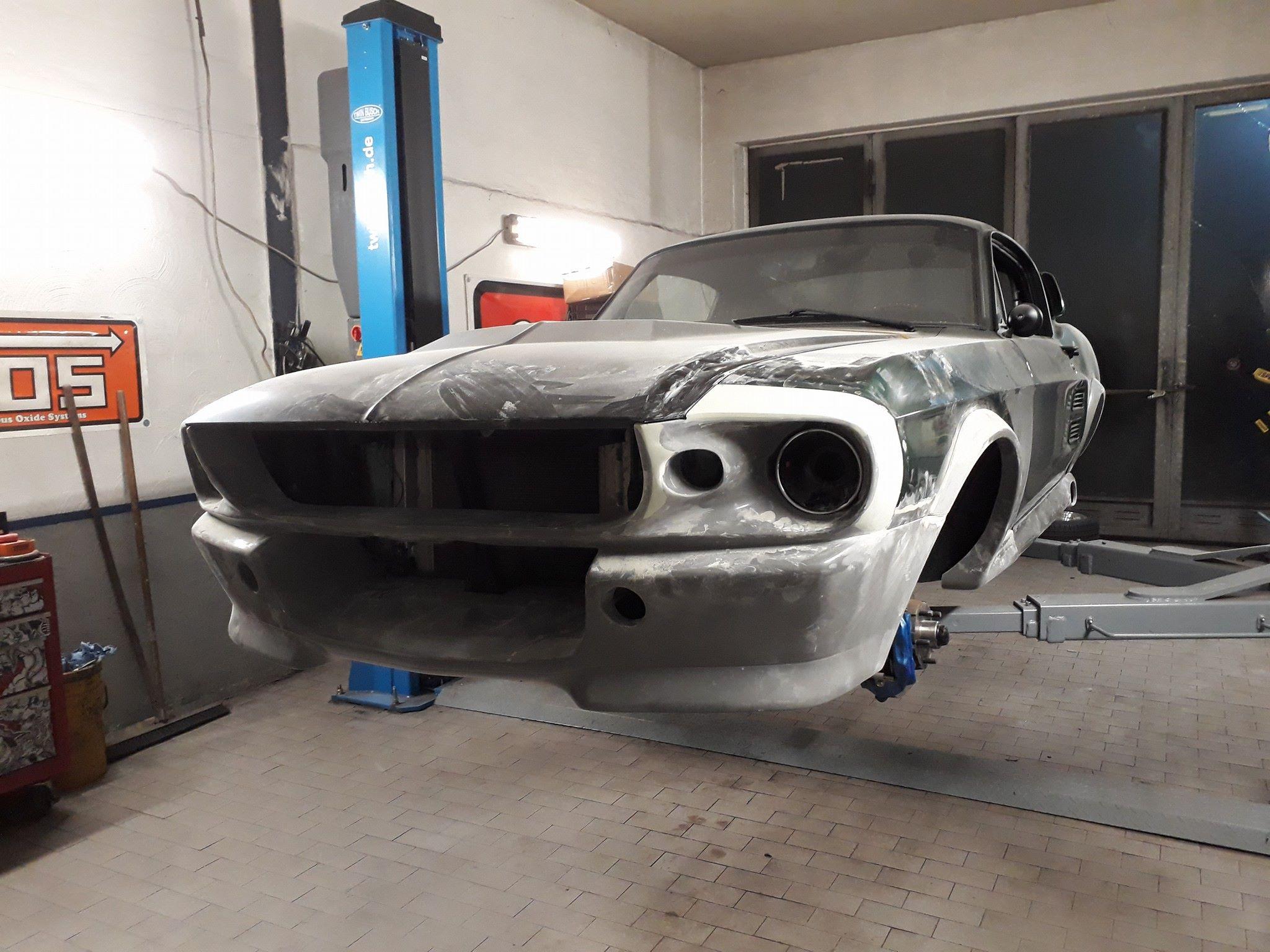 Umbau Bodykit Front