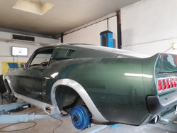 Umbau Bodykit Heck