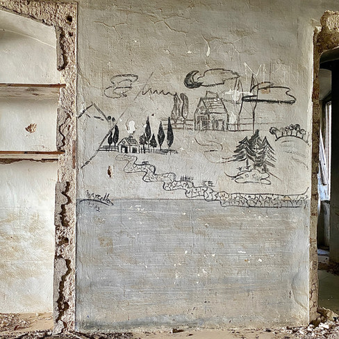 Villa du XVIIIème siècle abandonnée depuis 50 ans. Bari. Italie. 2020.