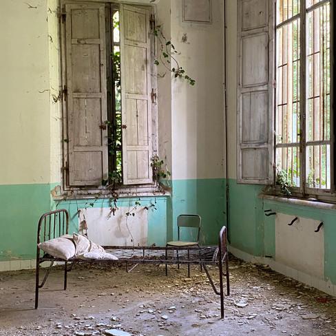 Artéfact psychiatrique abandonné depuis 1969. Italie.