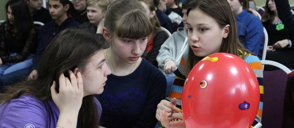 Школьники Московского района встретились на ринге