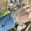 Thumbnail: Silver Hammered Cuff