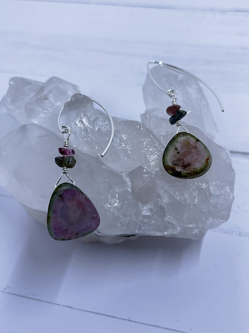 Watermelon Mix-Match Earrings