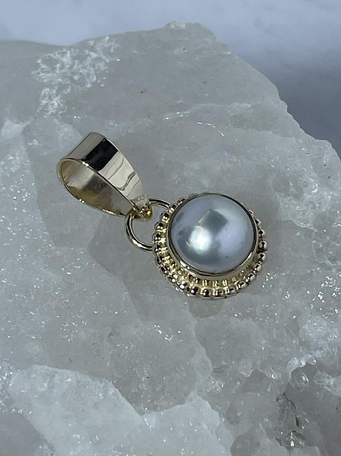 White Pearl Pendant