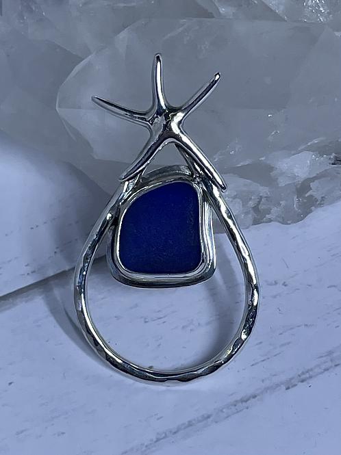 NJ Blue with Star Fish