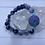Thumbnail: Agate & Cats Eye Elastic Bracelet