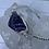 Thumbnail: Amethyst beaded silver bracelet