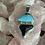 Thumbnail: Turquoise & Shark Tooth Pendant