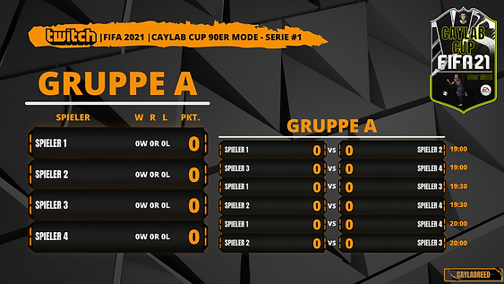 FIFA 21 Cup Gruppe