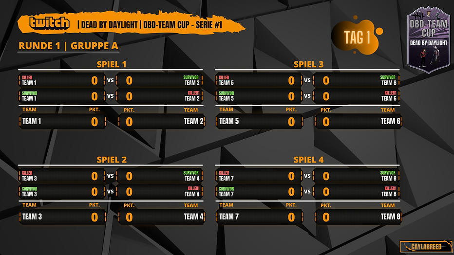 DBD Team Cup Gruppe A