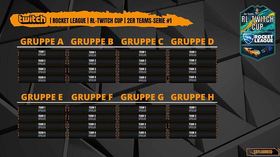 RL-TWITCH CUP 2er Teams