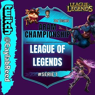League of Legends Aram Turnier Serie 1