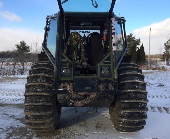 Military style Amphibious ATV The Patrol