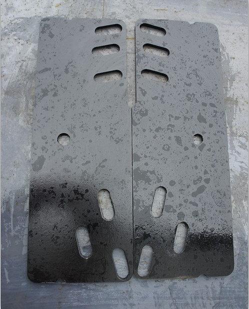 Brackets for installation (Dodge Rear Bumper)