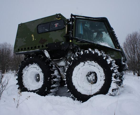 ATAC-V Patrol Winter testing