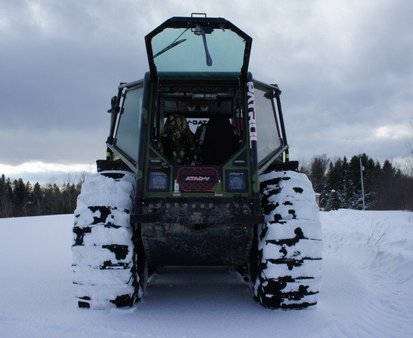 Amphibious ATV made in Canada