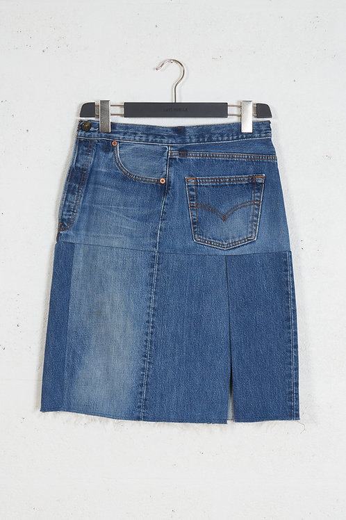 EIGHTIES DENIM SKIRT