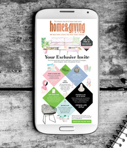 Home & Giving Fair digital invite