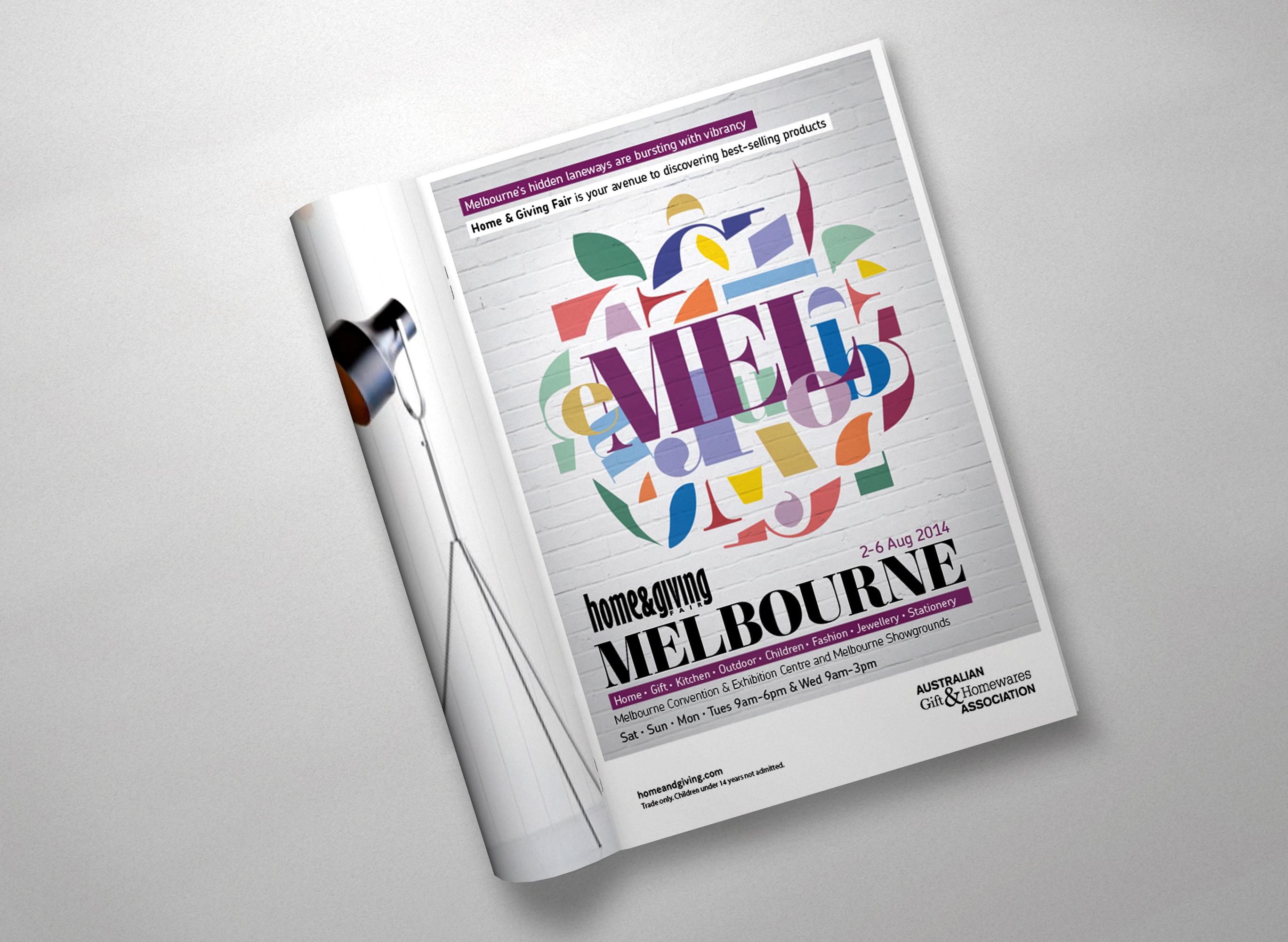 Home & Giving Fair press ad