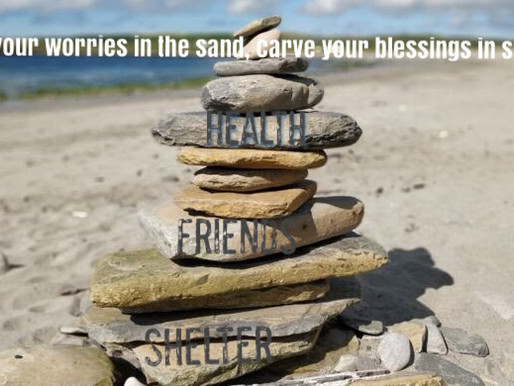 From Change Your Story - Change Your Life: Sand/Stone Story