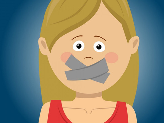 From Change Your Story - Change Your Life: Did Anyone Ever Gag you? Take it Off!