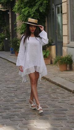 Robe Tunique à Volant
