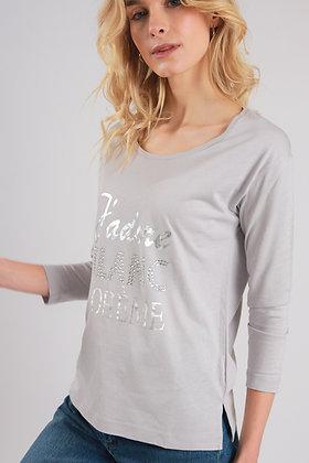 T-Shirt J'adore Blanc Bohème