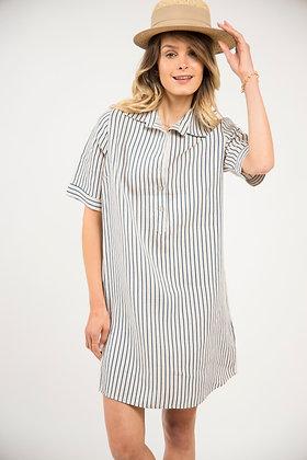 Robe chemise rayée Nantucket