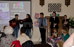 The Vocalize Crew at he Town Hall
