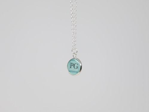 PG Silver Necklace