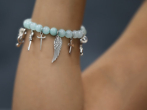 PG Bracelet With all charms