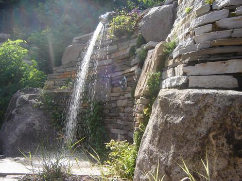 Muret de pierre