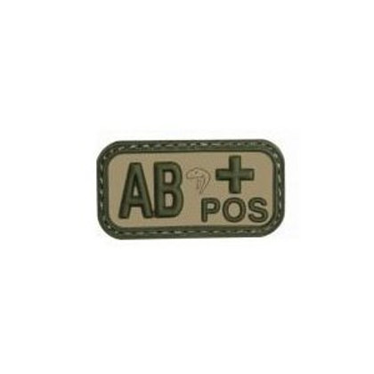 血液型ワッペン AB+型